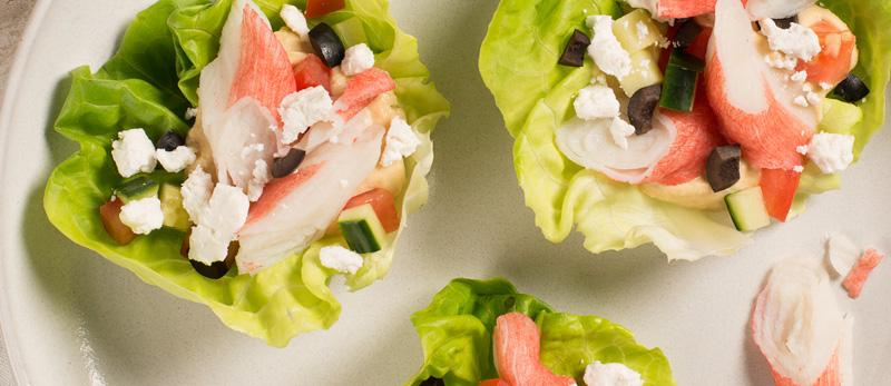 Simply-Surimi-Mediterranean-Lettuce-Wraps