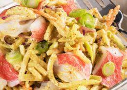 Simply-Surimi-Broccoli-Coleslaw-with-Spicy-Yogurt-Dressing